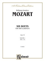 Six Duets, Volume I (Nos. 1-3)