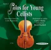 Solos for Young Cellists CD, Volume 2