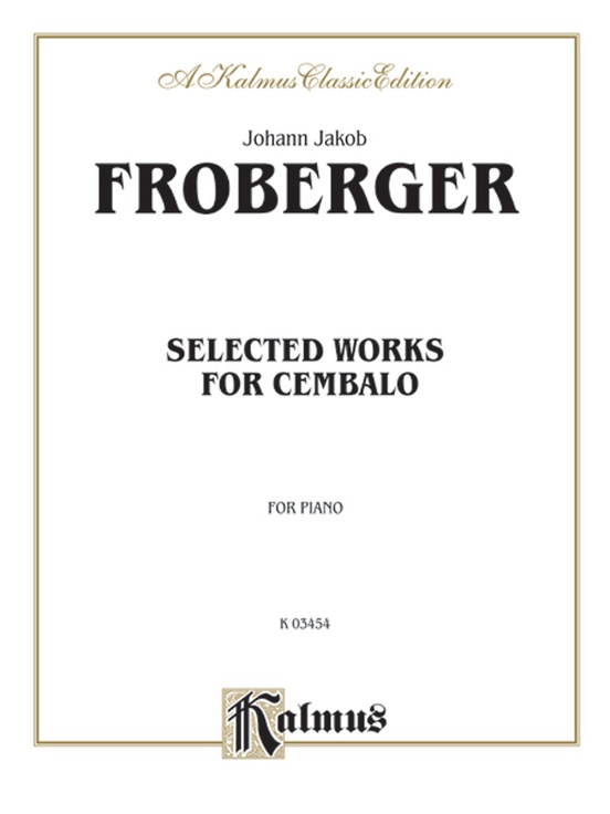Selected Works for Cembalo
