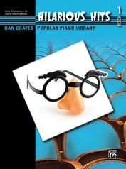 Dan Coates Popular Piano Library: Hilarious Hits, Book 1