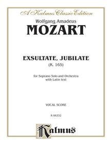 Exsultate, Jubilate (K. 165)