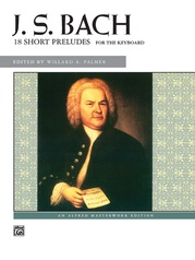 J. S. Bach, 18 Short Preludes