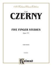 Five Finger Studies, Opus 777