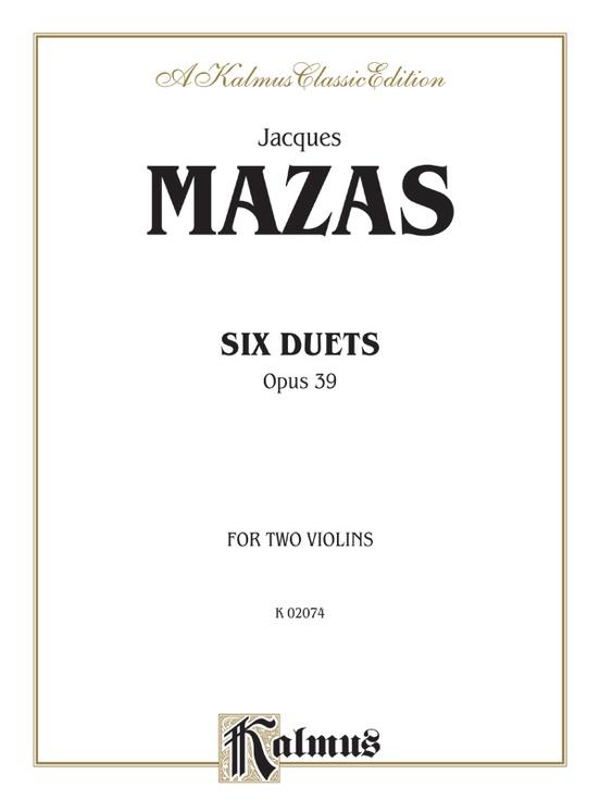 Six Duets, Opus 39