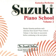 Suzuki Piano School CD, Volume 2
