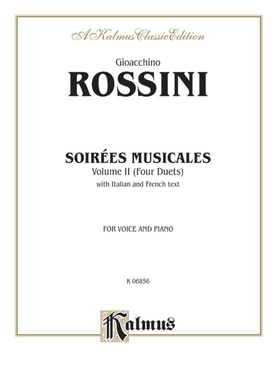 Soirées Musicales, Volume II (4 Duets)
