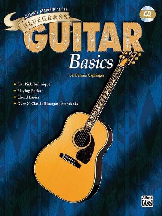 Ultimate Beginner Series Bluegrass Guitar Basics Guitar Book Cd