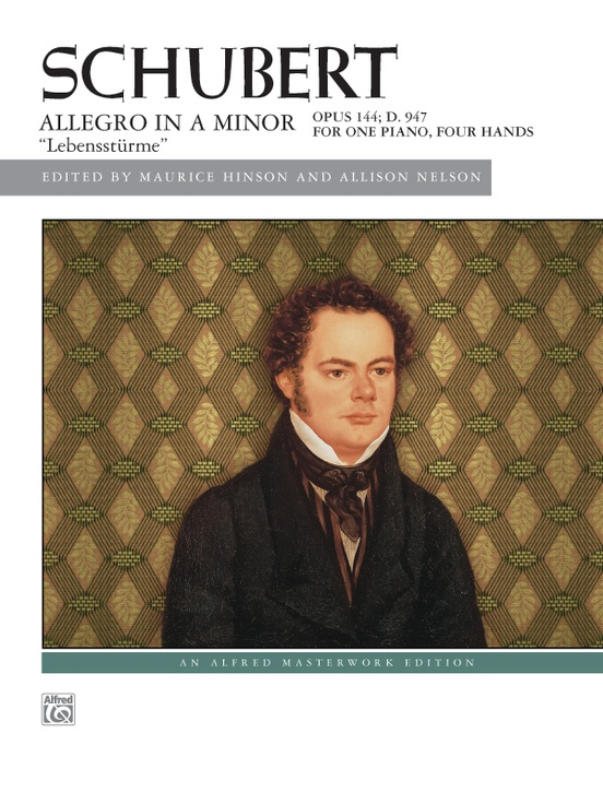 "Schubert: Allegro in A Minor, Opus 144 (""Lebensstürme"")"