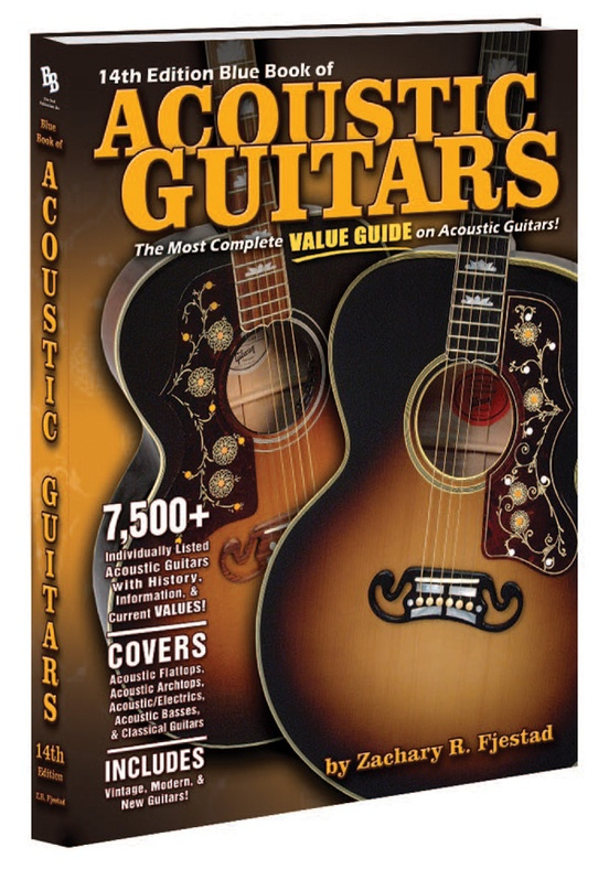 Blue Book of Acoustic Guitars (14th Edition)
