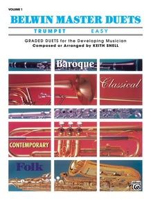 Belwin Master Duets (Trumpet), Easy Volume 1