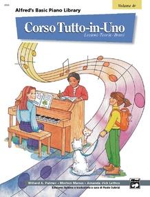 Alfred's Basic All-in-One Course Italian Edition, Book 4 [Corso Tutto-in-Uno]