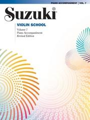 Suzuki Violin School Piano Acc., Volume 7 (Revised)
