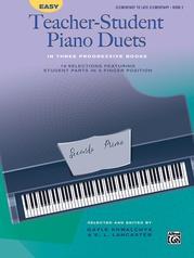 Easy Teacher-Student Piano Duets in Three Progressive Books, Book 2