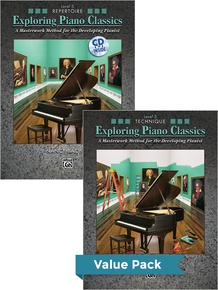 Exploring Piano Classics Level 5 (Value Pack)