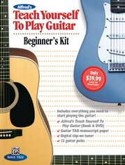 Alfred's Teach Yourself to Play Guitar: Beginner's Kit