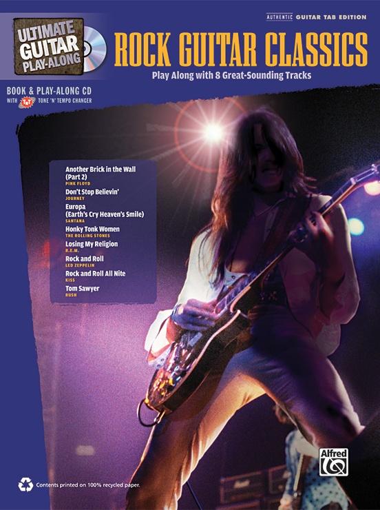 Ultimate Guitar Play-Along: Rock Guitar Classics