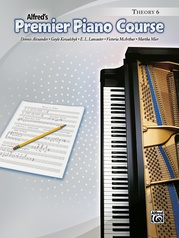 Premier Piano Course, Theory 6