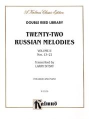 Twenty-Two Russian Melodies, Volume 2, Nos. 13-22