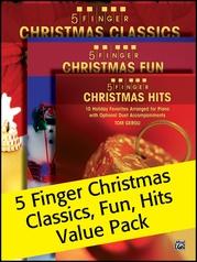 5 Finger Christmas (Value Pack)