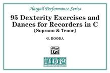 Finger Dexterity Exercises and Pieces for C Recorders