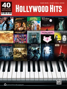 40 Sheet Music Bestsellers: Hollywood Hits