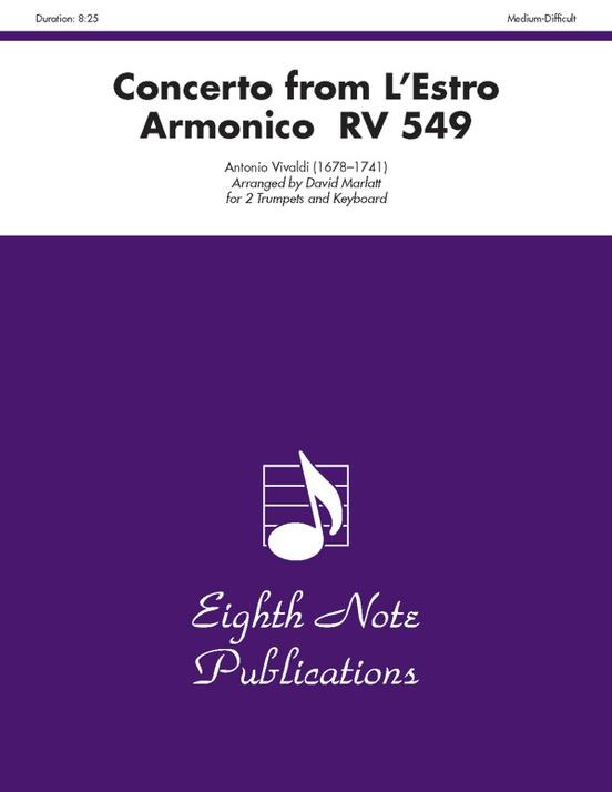 Concerto (from L'estro Armonico RV 549)