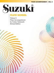Suzuki Flute School Piano Acc., Volume 8 (Revised)