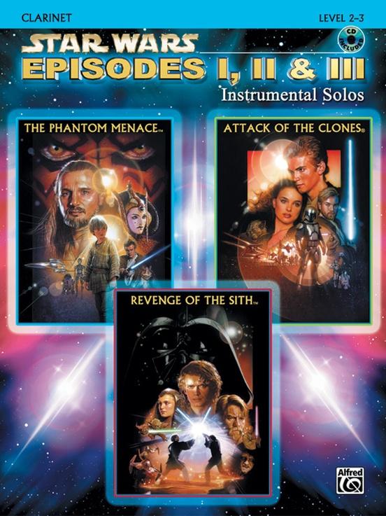 Star Wars®: Episodes I, II & III Instrumental Solos