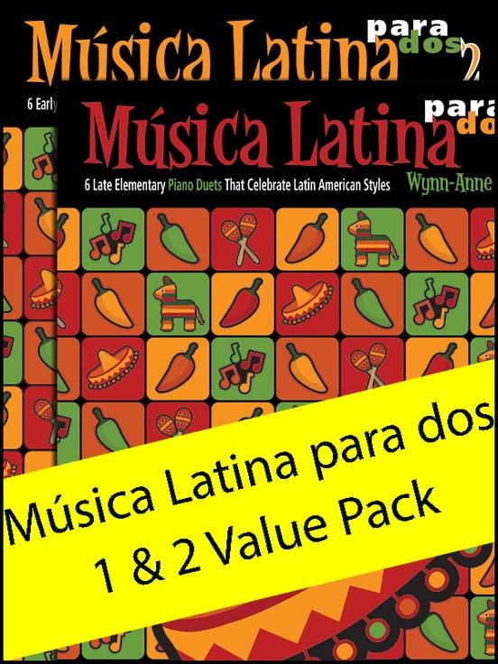 Música Latina para dos 1 & 2 (Value Pack)