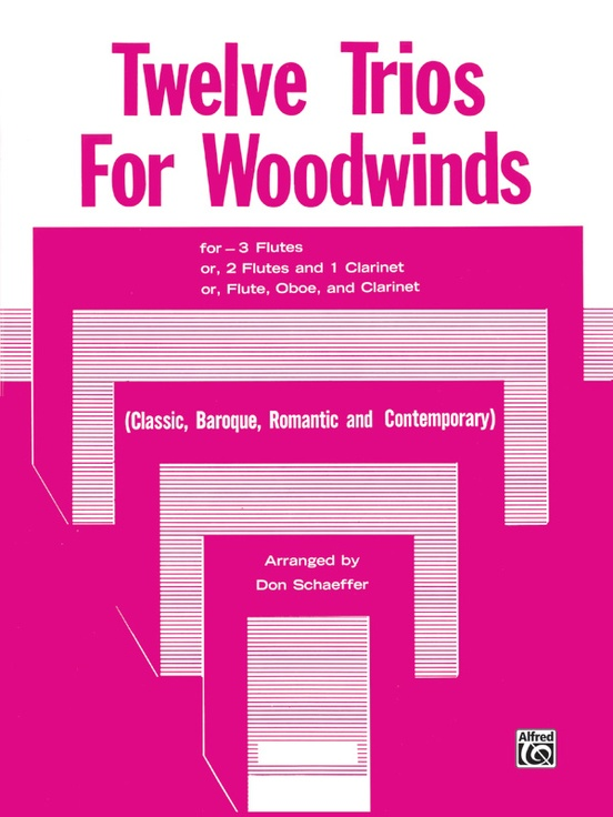 Twelve Trios for Woodwinds