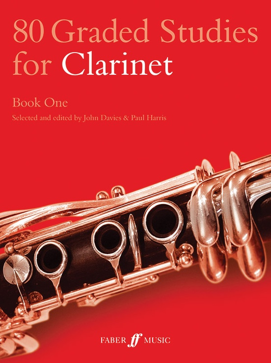 80 Graded Studies for Clarinet, Book One