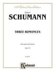 Three Romances, Opus 94