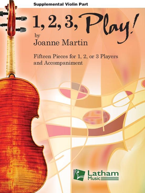 1, 2, 3, Play! - Supplemental Violin Part