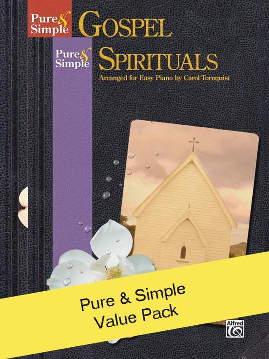Pure & Simple Gospel/Spirituals (Value Pack)