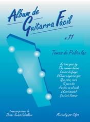 Album de Guitarra Facil N.11: Temas de Películas