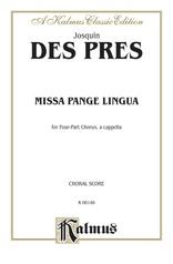 Missa Pange Lingua