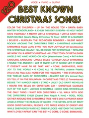 120 Best Known Christmas Songs