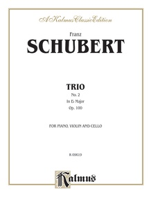 Trio No. 2 in E-flat Major, Opus 100