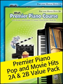 Premier Piano Course, Pop and Movie Hits 2A & 2B (Value Pack)