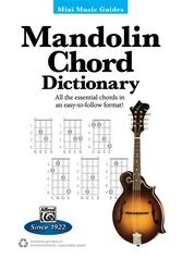 Mini Music Guides: Mandolin Chord Dictionary