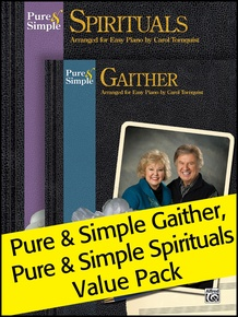 Pure & Simple Spirituals/Gaithers (Value Pack)
