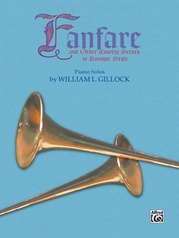 Fanfare and Other Courtly Scenes in Baroque Style