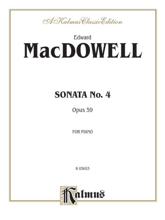 Sonata No. 4, Op 59