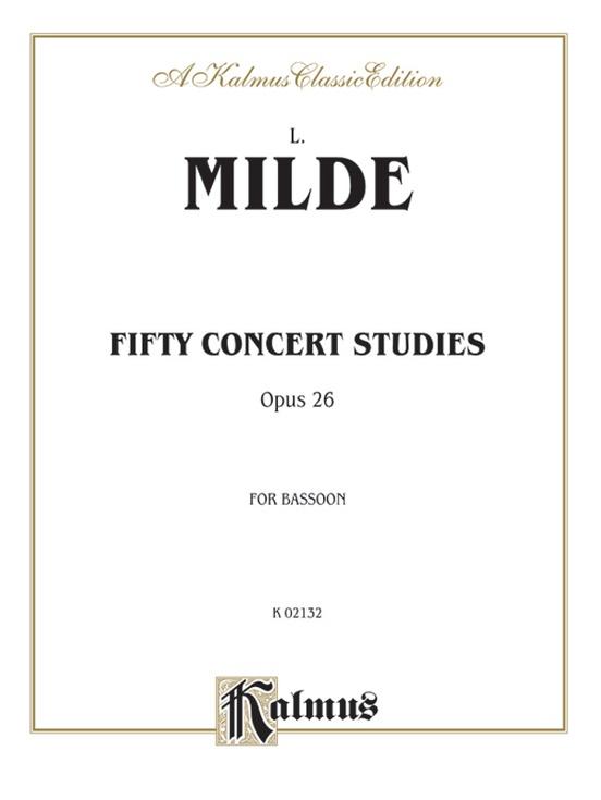 Fifty Concert Studies, Opus 26