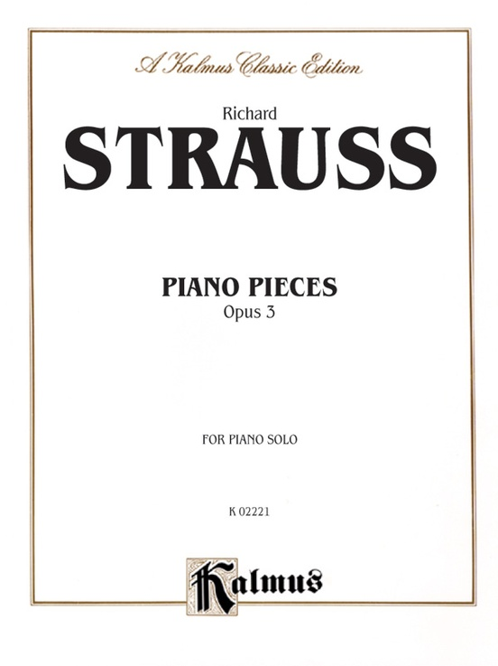 Piano Pieces, Opus 3