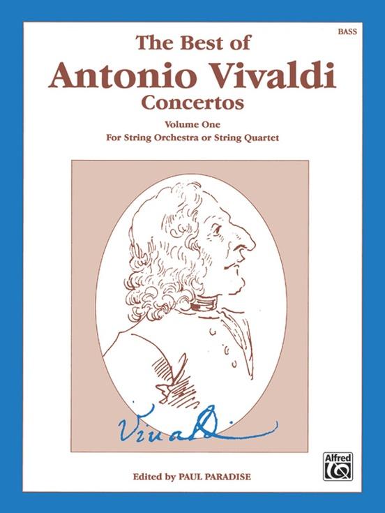 The Best of Antonio Vivaldi Concertos, Volume One