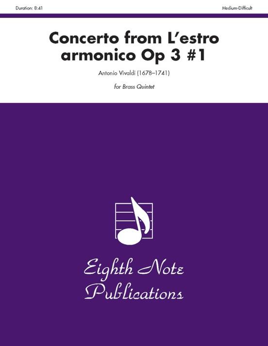 Concerto (from L'estro Armonico, Op 3 #1)