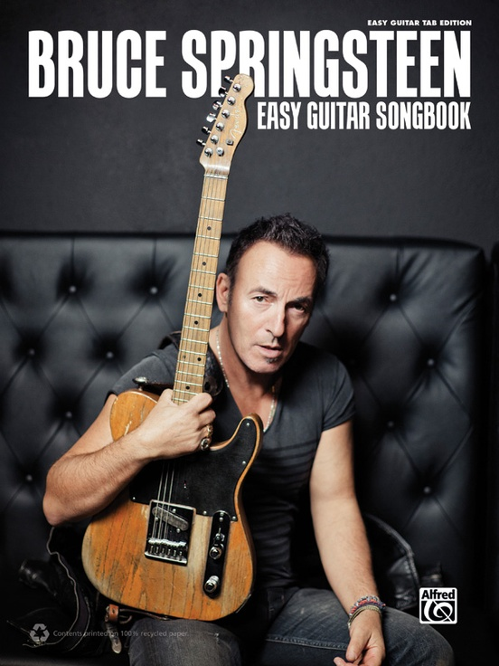 Bruce Springsteen Easy Guitar Songbook Easy Guitar Tab