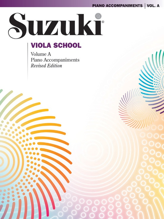 Suzuki Viola School Piano Acc., Volume A (contains Volumes 1 & 2)