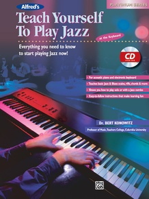 Alfred's Teach Yourself to Play Jazz at the Keyboard